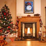 5D Diamond Painting Kits, DIY Christmas Full Drill Rhinestone Diamond Painting Kits for Home Décor