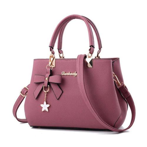 WENYUJH 2018 Elegant Shoulder Bag Women Designer Luxury Handbags Women Bags Plum Bow Sweet Messenger Crossbody Bag for Women