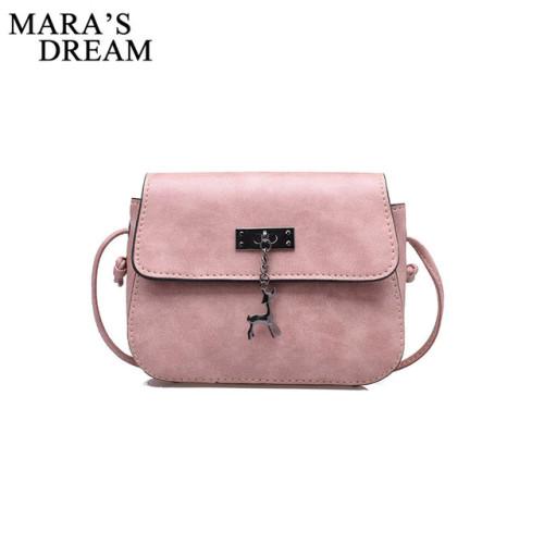 Mara's Dream Shell Women Messenger Bags High Quality Cross Body Bag PU Leather Mini Female Shoulder Bag Handbags Bolsas Feminina