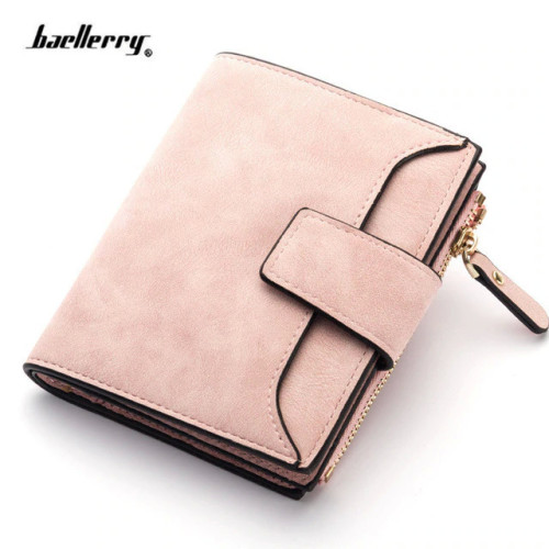 2019 Leather Women Wallet Hasp Small and Slim Coin Pocket Purse Women Wallets Cards Holders Luxury Brand Wallets Designer Purse