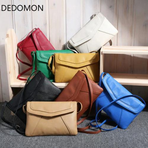 Small Bags for Women 2018 Messenger Bags Leather Female Newarrive Sweet Shoulder Bag Vintage Leather Handbags Bolsa Feminina