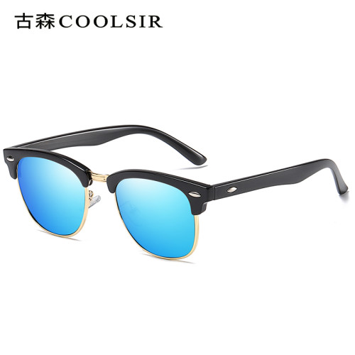 Unisex Polarized Sunglasses 6098 Retro Classic Minails Colorful Driving Sunglasses