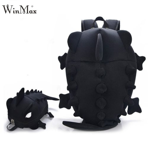 Factory Outlet 2018 Creative Kids 3D Animal Backpack Dinosaur Shape Children Primary Cartoon School Bags Teenager Book Schoolbag