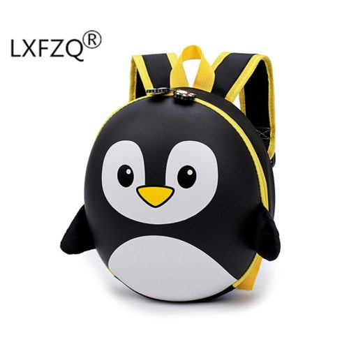 New 3D children school bags Cartoon Hard shell backpack for children for girls penguin school backpack for boy mochila infantil