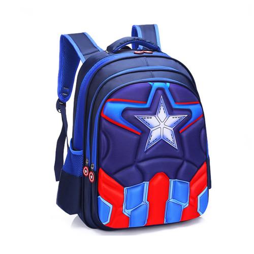 2019 Children Captain America Backpack boys girls Primary school Backpack kids Kindergarten backpack Schoolbag Mochila Infantil