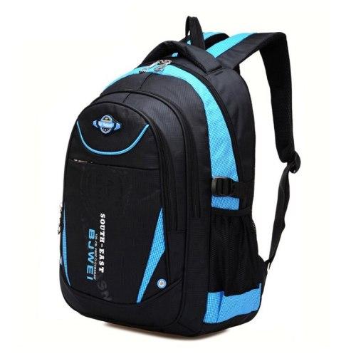 BAIJIAWEI Children School Bags for Teenagers Boys Girls Big Capacity School Backpack Waterproof Satchel Kids Book Bag Mochila