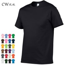 2018 New Solid color T Shirt Mens Black And White 100% cotton T-shirts Summer Skateboard Tee Boy Skate Tshirt Tops