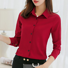 Shirts women 2019 new Korean style spring summer plus size casual fashion elegant bottoming blouses office work ladies shirts