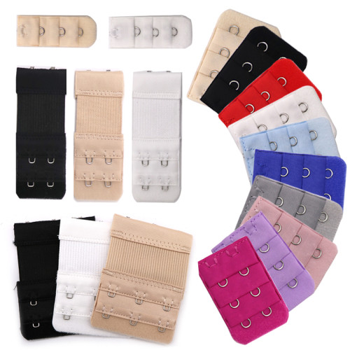 5pc Bra Extenders Strap Buckle Extension 3 Rows1/2/3/4/5 Hooks Clasp Straps Bra Strap Extender Sewing Tool Intimates Accessories