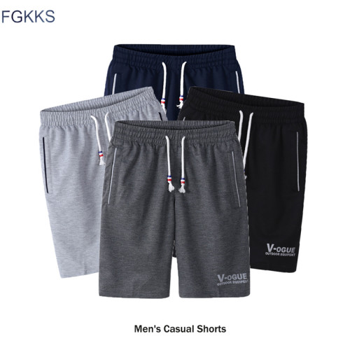 FGKKS Fashion Brand Men's Shorts 2018 Spring Summer Male Sweatpants Fitness Bodybuilding Workout Man Fashion Shorts