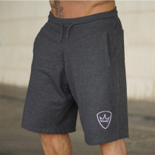 Men 2018 Summer New Loose Cotton Shorts Man Gyms Fitness Knee Length Sweatpants Male Jogger Workout  Brand Short Pants
