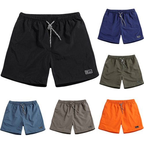 2019 New Shorts Men Summer Plus Size Thin Fast-drying Beach Trousers Casual Sports Short Pants Clothing Spodenki Short Homme