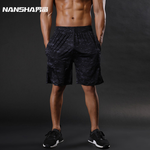 NANSHA Brand Mens Compression Shorts Summer Python Bermuda Shorts Gyms Fitness Men  Bodybuilding Tights Camo Shorts