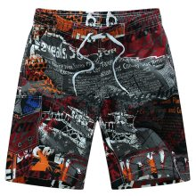 2019 new summer hot men beach shorts quick dry coconut tree printed elastic waist 4 colors M-6XL drop shipping AYG366