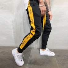 Jeans Mens Autumn Winter Joggers Patchwork Casual Drawstring Sweatpants Trouser Pants Vaqueros Hombre Plus Size Men Jeans Homme