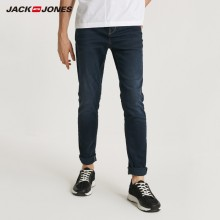 JackJones 2019 Spring Men's Casual Denim Pants Skinny Jeans Classic Jeans Cowboys Young Man J|218332583-218332539