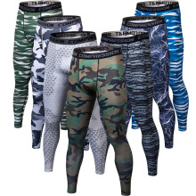 3D printing Camouflage Pants Men Fitness Mens Joggers Compression Pants Male Trousers Bodybuilding Tights Leggings For men