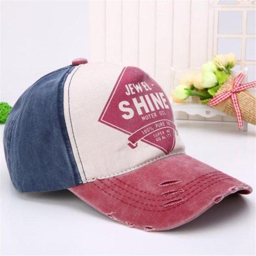 Unisex Cotton Colorful Baseball cap women SnapbackAdjustable Letter Casual Summer hat girl Hip hop cap Bone feminino Casquette