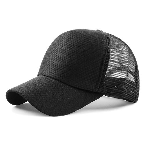 New Pattern Summer Brand New Cotton Mens Hat Unisex Women Men Hats Baseball Cap Snapback Casual Caps Gauze Splicing Solid Color