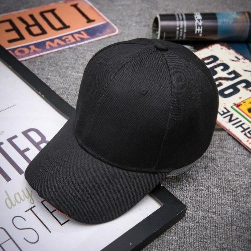 Snapback Hats For Men Black Adult Unisex Casual Solid Adjustable Baseball Caps Baseball Cap Women Men White Baseball Cap