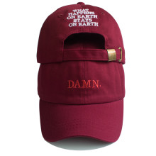 Unisex Spring summer DAMN Hats Embroidered Earth Dad Hat Hip Hop cap Kendrick lamar Rapper Snapback hats Baseball Cap wholesale