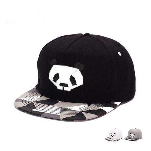 fashionspring and summer  lovers baseball cap hip-hop hat male Ms. cute panda zebra rubber   hatsnapback Flat-brimmed hat