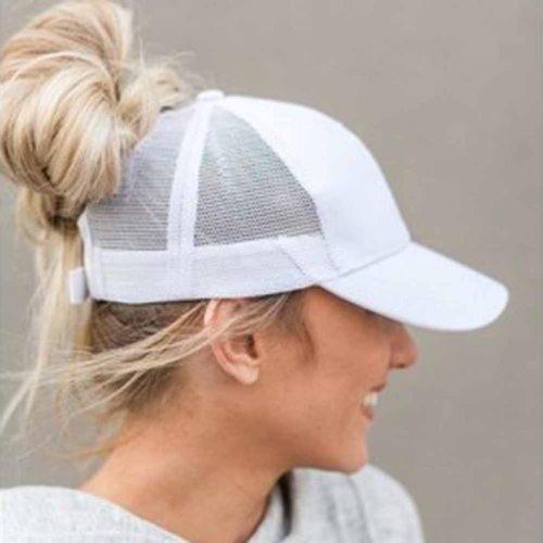 Summer Women  Mesh Cap Ponytail Baseball Caps Fashion Snapback Caps For Women&Man Sport Hat Unisex Bone Drop