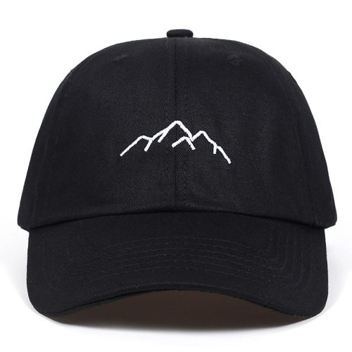 2018 new Mountain range embroidery Mens Womens Baseball Caps Adjustable Snapback Caps Fashion dad Hats Bone Garros