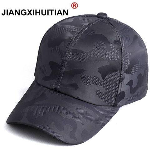 2018 Summer Mens Camouflage Camo Cap Cadet Casquette Desert Camo Hat Mesh Baseball Cap Hunting Fishing Blank Desert Hat