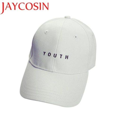 Men Cotton Baseball Cap JAYCOSIN Delicate Hot! youth letter Embroidery Boys Girls Snapback Hip Hop Flat Hat