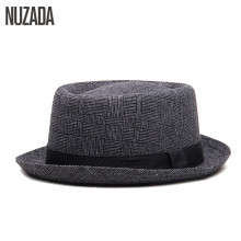 Brands NUZADA England Retro Men Couple Women Fedoras Top Jazz Hat Spring Summer Autumn Bowler Hats Cap Classic Version