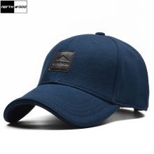 [NORTHWOOD] High Quality Brand Mens Cotton Baseball Cap Women Snapback Hat Solid Dad Hat 100% Cotton Bone Trucker Cap For Adult