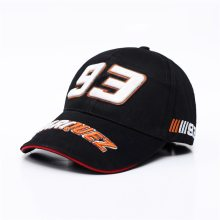 New Snapback Caps Wholesale  Embroidery Baseball Cap Hat Motorcycle Racing 93 Baseball Cap For Men