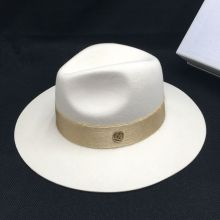 Autumn wool White male temperament dame cap hat felt hat joker panama restoring ancient ways