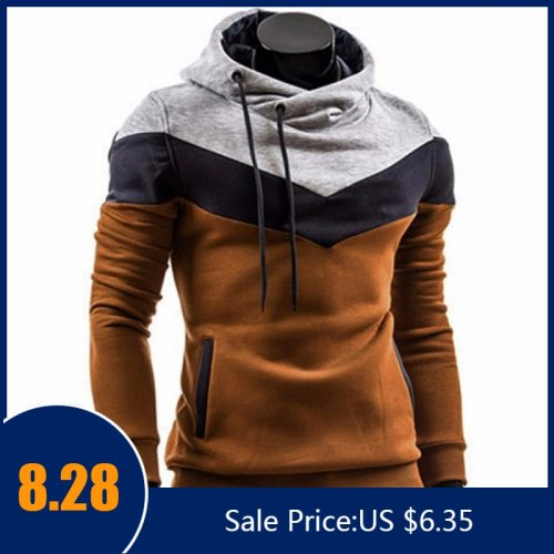Fashion Autumn Winter Men Hoodie Sweatshirt Long Sleeve Tops Shirt Sweatshirts Pullover Sweatshirt Male Coats Outerwear Shirt