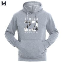 Hot 2019 New JORDAN 23 Letter Print Sweatshirt Men Hoodies Fashion Solid Hoody Mens Pullover Mens Tracksuits Male Hoodie Coats