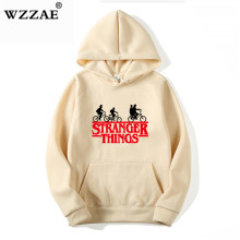 Stranger Things Hoodies Men Women Letters Print Autumn Harajuku Hip Hop Sweatshirt Man Fashion Winter Fleece Jumper Drop