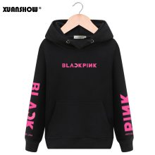 XUANSHOW Unisex Fashion Hoodies Swirtshirts Blackpink KPOP Long Sleeve Hat Clothes Pullovers Sweatshirts Sudadera Mujer S-XXL