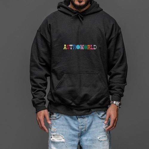 Travis Scotts ASTROWORLD Hoodies Man The Embroidery Letter Print Swag WISH YOU WERE HERE Hoodie Plus US Size S-XXL