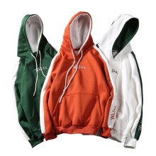 2019 Autumn White Hoodies With Hat Men Big Pocket Street Winter Fashion Casual Hip hop Clothing Hoodie Pullover Hoody Male