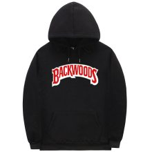 The screw thread cuff Hoodies Streetwear Backwoods Hoodie Sweatshirt Men Fashion autumn winter Hip Hop hoodie pullover