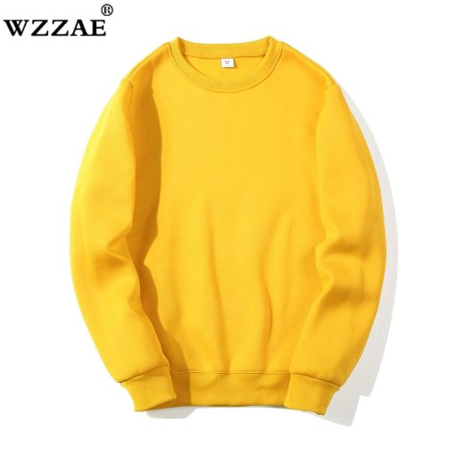 Solid Sweatshirts 2019 New Spring Autumn Fashion Hoodies Male Large Size Warm Fleece Coat Men Brand Hip Hop Hoodies Sweatshirts
