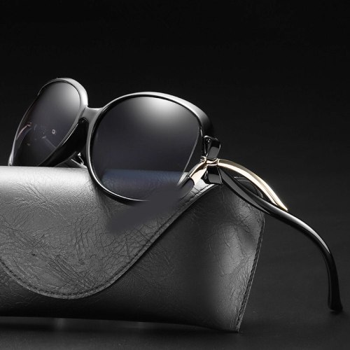 Sunglasses Women Polarized Eyewear Uv400 Luxury Design Vintage Fashion Polar Driver Shades Oversized Ladies Glasses Retro Brand