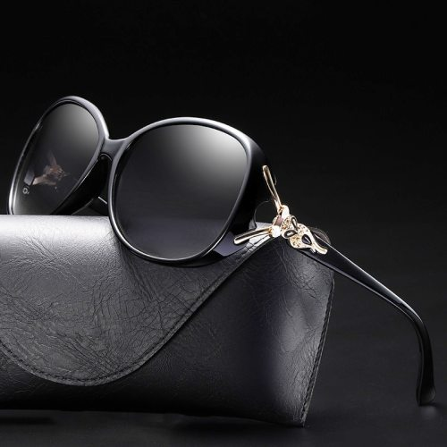 Uv400 Polarized Luxury Sunglasses Women Fashion Brand Designer Driving Shades Vintage Retro Oval Oversized Glasses Lady New 2019