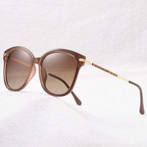 Sunglasses Female Cat Eye Uv400 Eyewear Polarized Glasses Fashion Vintage Retro Driving Shades For Women New 2019 Top Selling