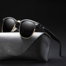 Ladies Sunglasses Polarized Man's Eyeglasses Uv400 Shades For Women Vintage Retro Glasses Fashion Driving Top Selling Female Tac