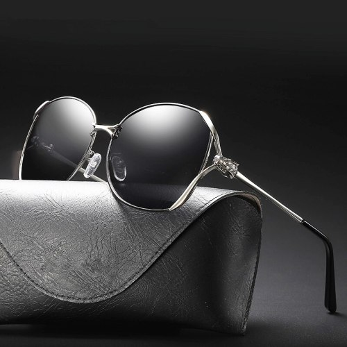 Female Sunglasses Luxury 2019 Polarized Eyewear Uv400 Shades For Women Vintage Glasses Lady Pink Fashion Driving Brand Designer