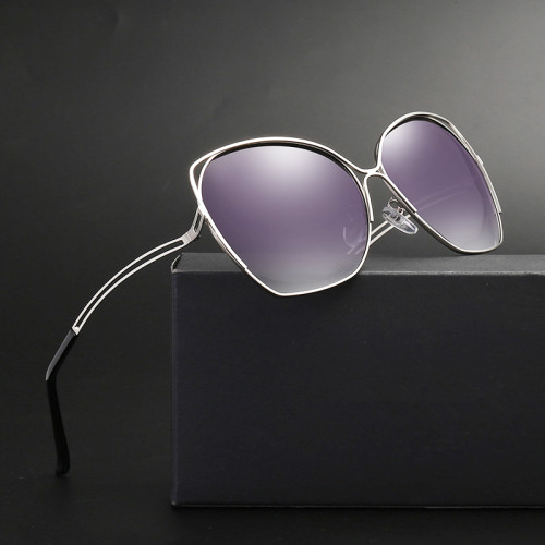 Sunglasses Women Polarized High Quality UV400 Vintage Retro Shades Driving Luxury Oversized Pink Glasses Ladies Brand Designer