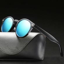 Fashion Male Sunglasses Brand Woman Polarized Uv400 High Quality Vintage Cat Eye Retro Shades Driver Men's Glasses Yellow Lens