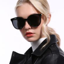 Cat's Eye Sunglasses Polarized Eyewear Uv400 Red Glasses Vintage Retro Driving Shades For Women Luxury Design Fashion Lady Polar